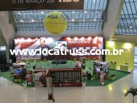 box truss e painéis para evento