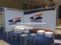 Stand Copagaz em Box Truss em L
