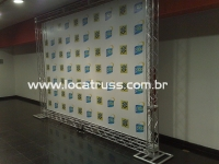 Painel Backdrop Banco do Brasil