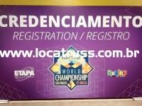 backdrop de credenciamento
