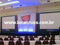 fundo de palco evento