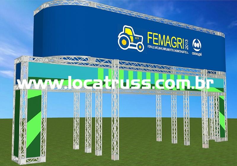 Projeto Portico Box Truss