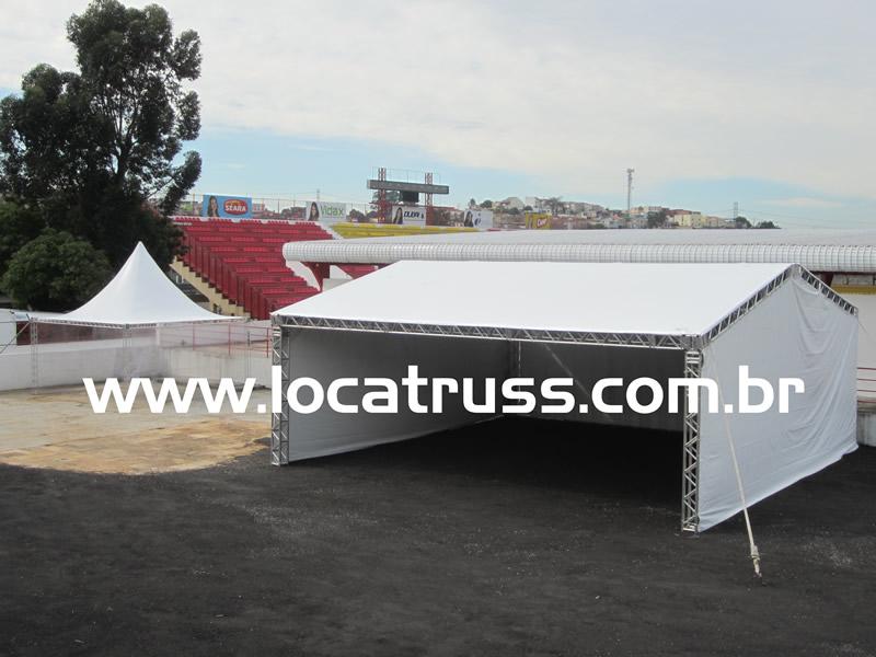 locação de tenda, aluguel de tenda, tenda box truss, tenda q30, tenda galpão