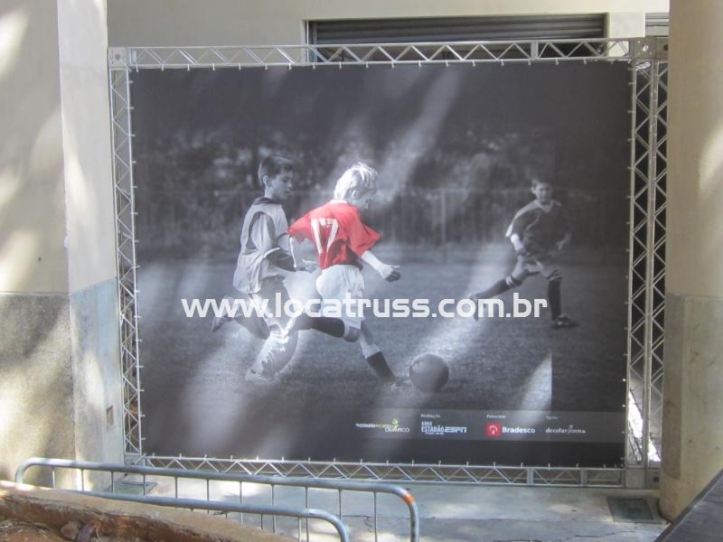painel backdrop em Box Truss