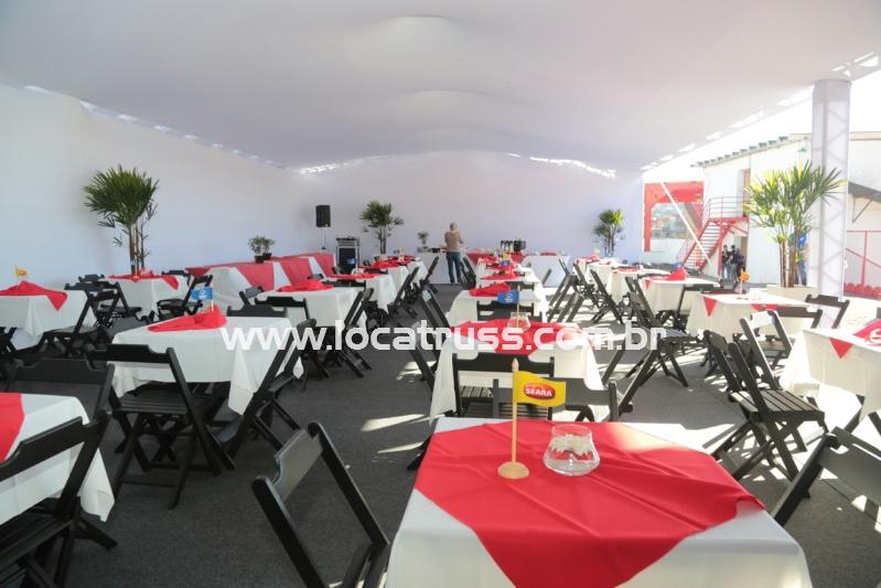 Locacão de Tendas e Pisos para Eventos.
