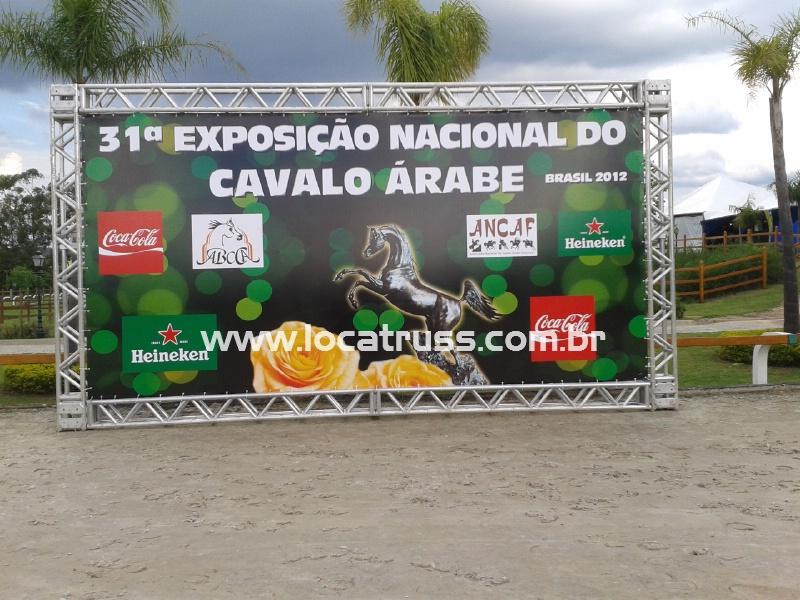 Backdrop de Pista - Expo Cavalo Árabe 2012
