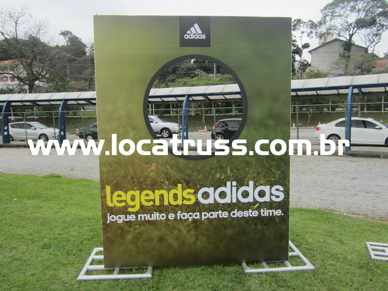 Box Truss Q30, Trainel e Cenografia para evento Adidas Legends