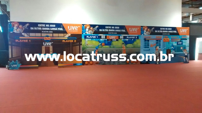 Painel 20x5m Live TIM