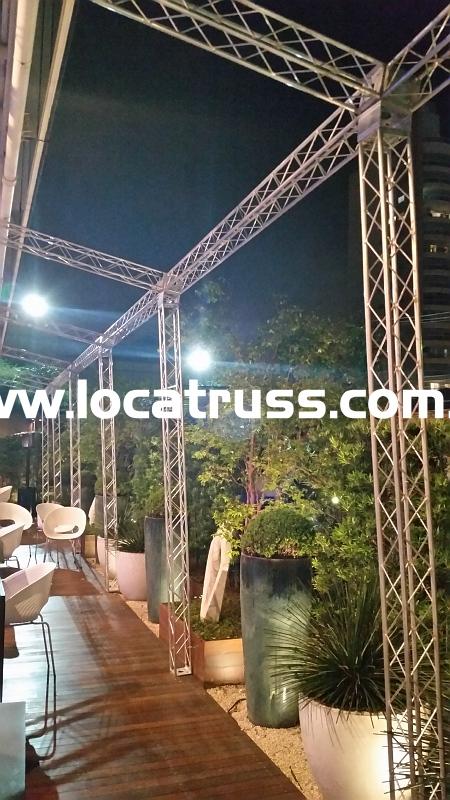 cobertura box truss Q15
