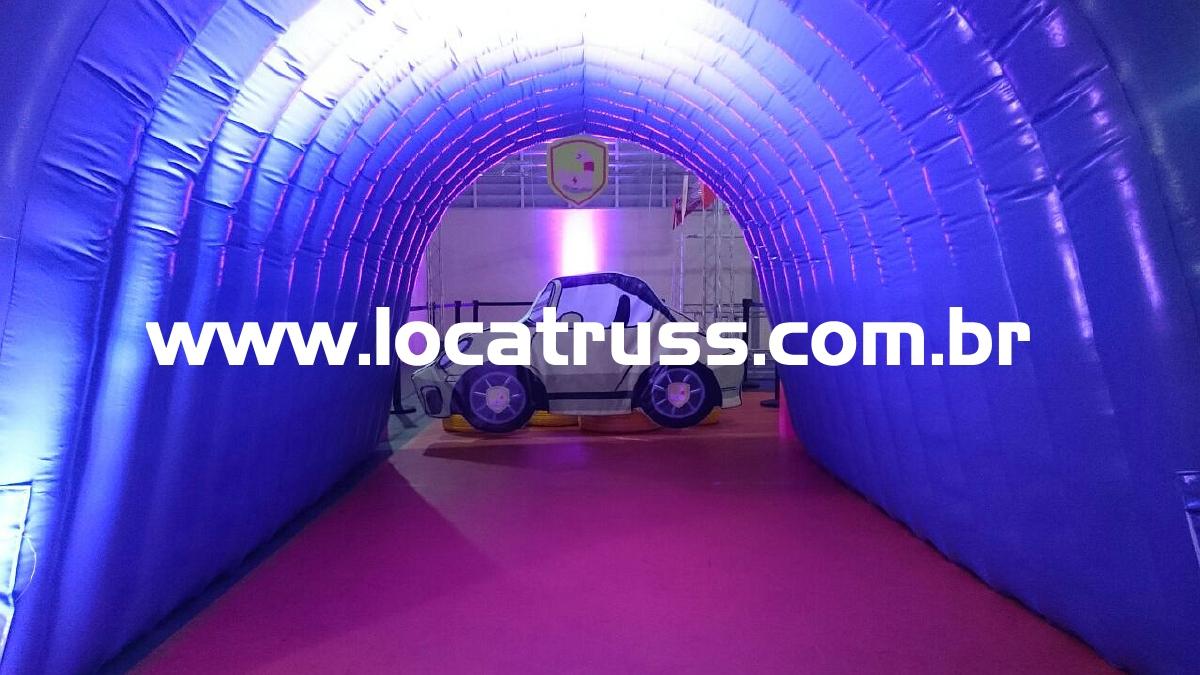 Túnel Inflável para evento