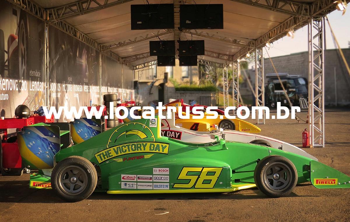 Cobertura para Box Corrida Fórmula Inter
